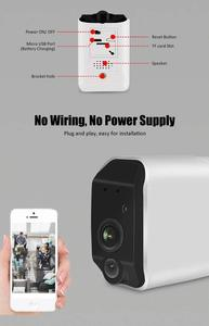 Image 2 - CTVISON wireless battery camera battery powered wifi camera with sd card outdoor ip wifi 1080p pir security surveillance