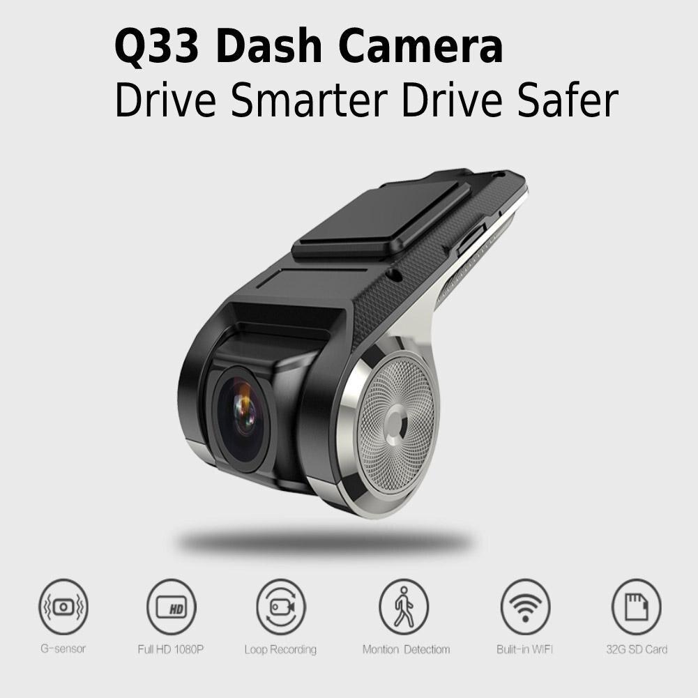 HiMISS Q33 Mini Car DVR DVRs Camera Full HD 1080P Auto Digital Video Recorder Camcorder  G sensor 150 Degree Dash Cam|DVR/Dash Camera|   - AliExpress
