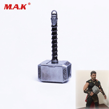 1/6 Scale Thor Hammer Weapon Model Figrue Scene Accessories for 12 inches Action Figure