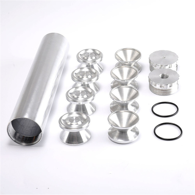 Car 5/8-24 1/2-28 Fuel Filter + 8 Pcs D Cell Storage Cups NAPA 4003 WIX 24003 Aluminum thread filter solvent filter only for car