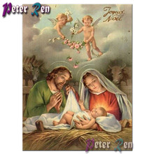 Birth Of Jesus Christ 5D DIY Diamond Painting cross stitch religion Full square round drill mosaic Diamond embroidery Home Decor 5d diamond painting religion jesus full square round diamond embroidery diamond mosaic cross stitch inlay religion home decor