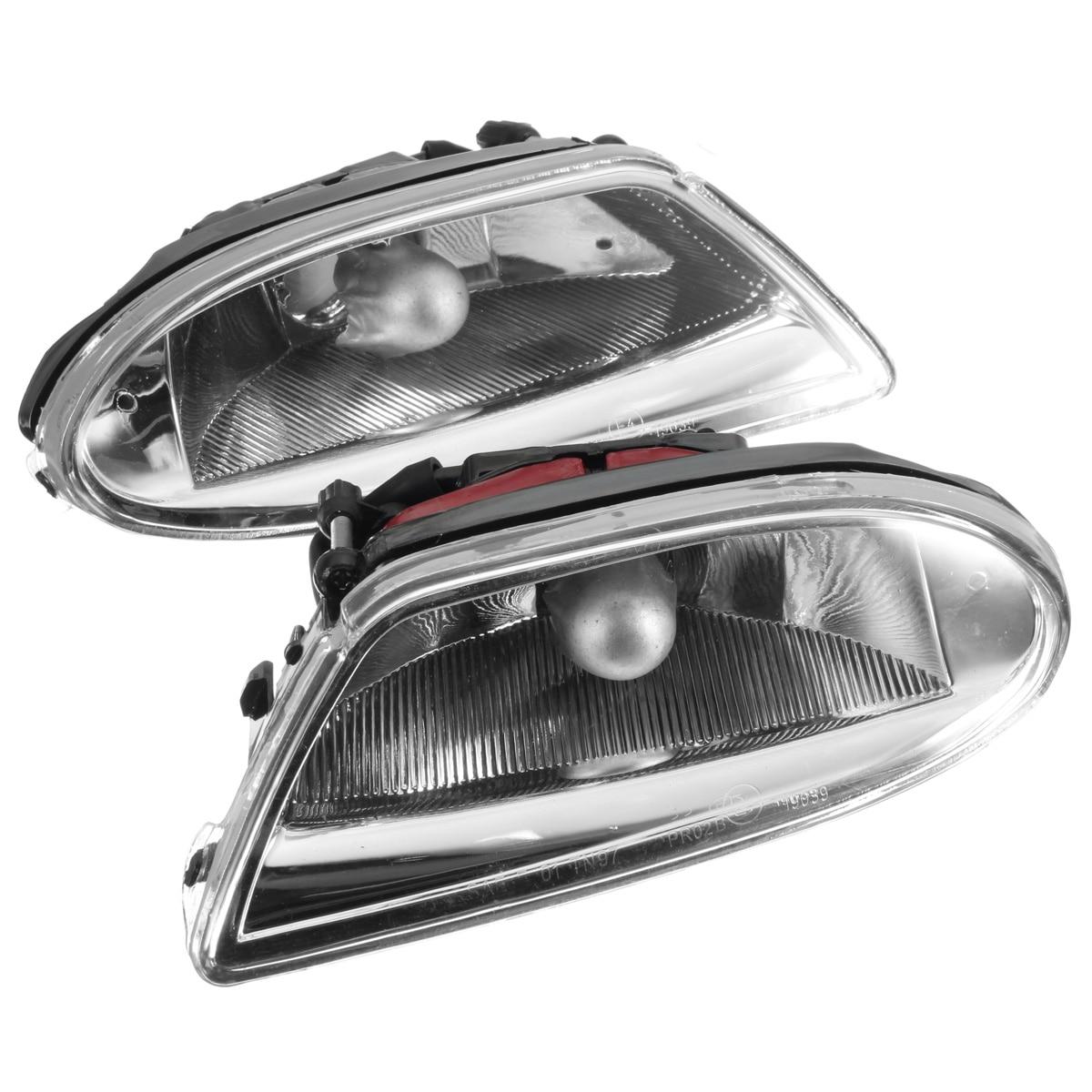 Левый и правый автомобильный противотуманный светильник в сборе для Mercedes, для Benz ML ML350 ML500 ML430 ML320 ML55 Для AMG 1638200428 1638200328