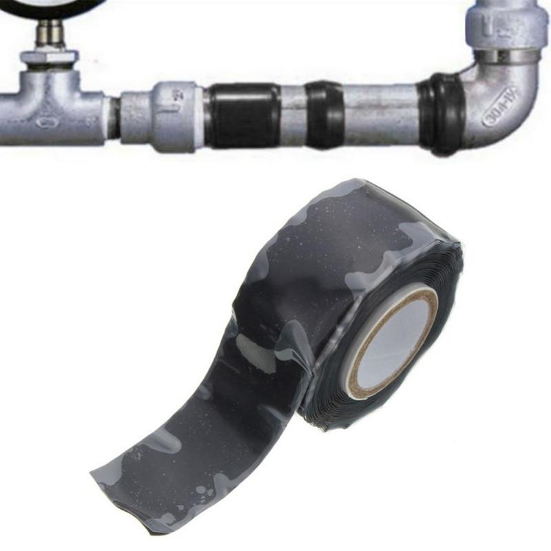 1 шт., водостойкая клейкая лента для ремонта водопроводных труб, 2,5 см х 1,5 м