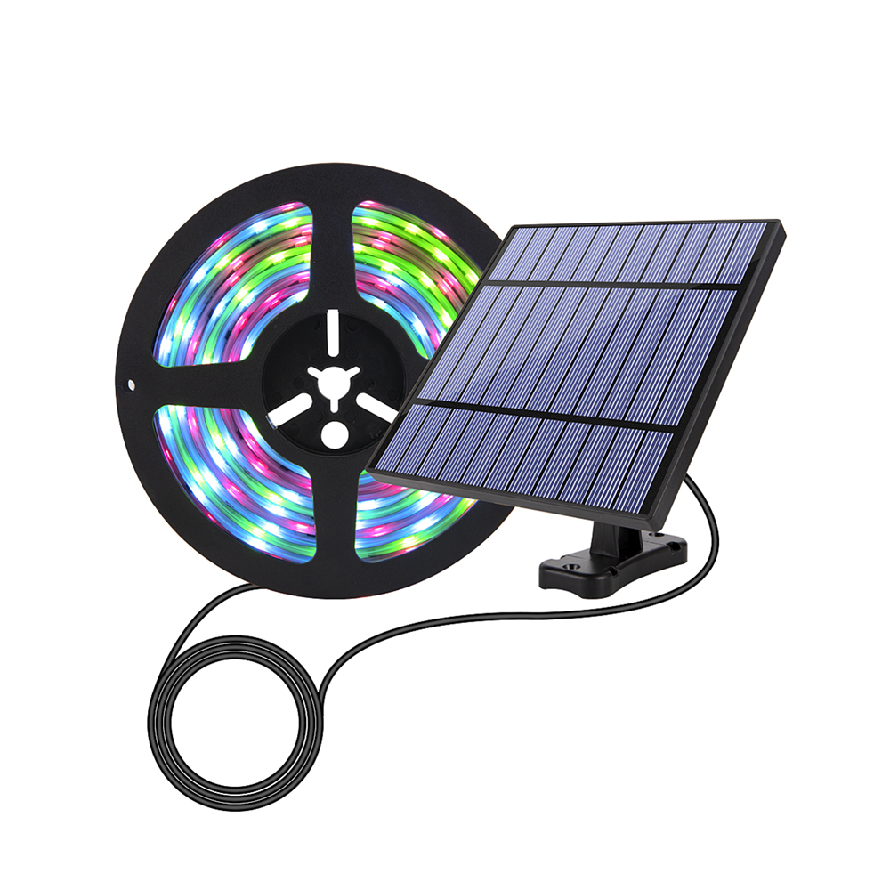 Solar Lights LED Strip Flexible Fairy Lights Waterproof Solar Garland Lamp For Patio Garden Home Wedding Fairy Lights