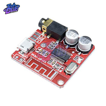 Mini Wireless Bluetooth Audio Receiver Board Stereo Music 4.1 mp3 Lossless Decoder Car Speaker Power amplifier Board 3.7V-5V image