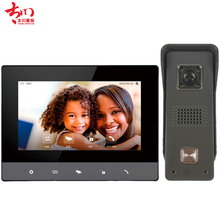 video intercom videophone 2 wire 4 wire house villa door bell with night vision 1080p camera apartment wired intercom