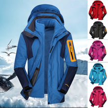 Jacket Mountaineering-Suit Ski-Suit New Detachable-Liner Two-Piece Three-In-One