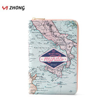 YIZHONG Leather Large Capacity Womens Wallets and Purses Mul