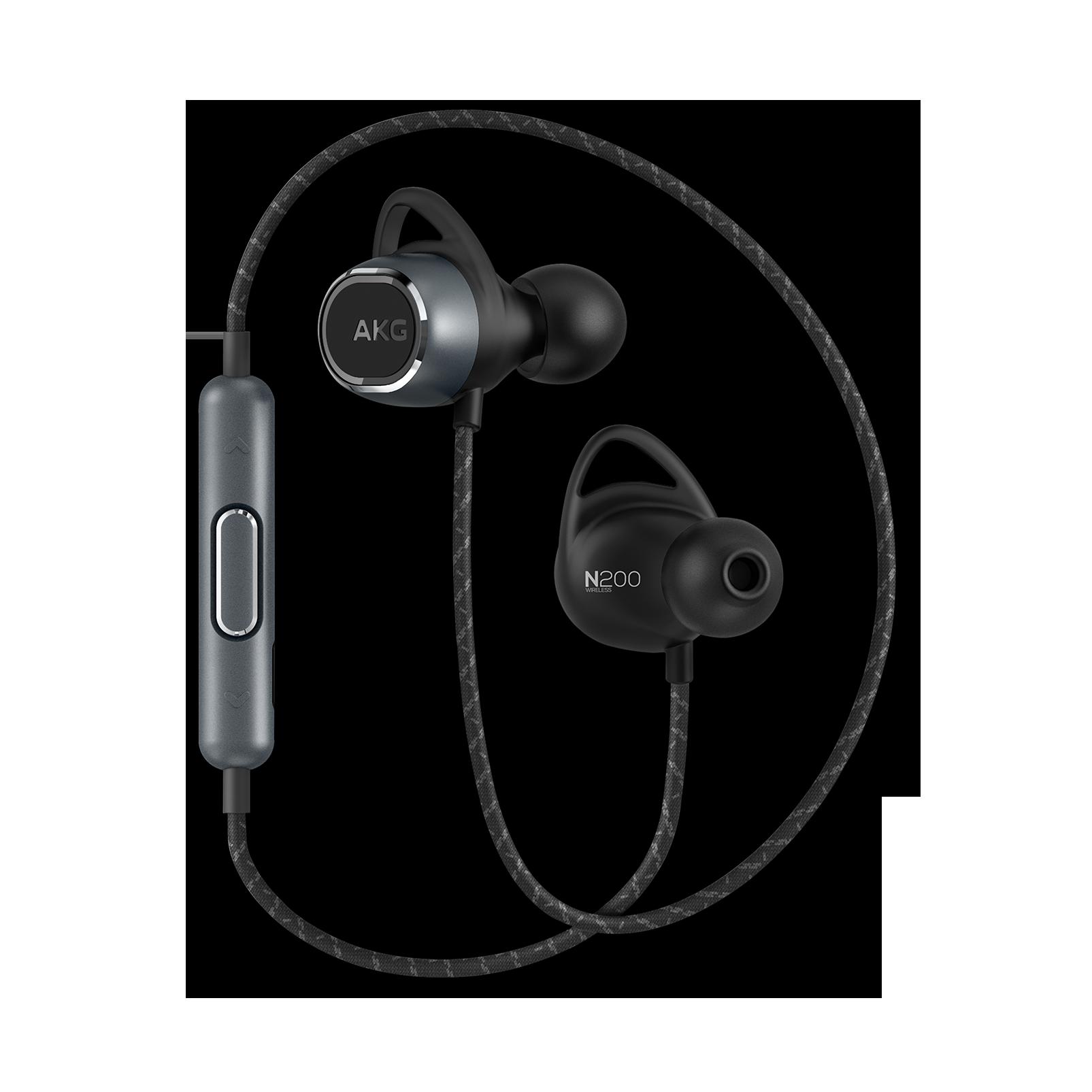 Samsung Akg Bluetooth Wireless Magnetic Neckband Earphones Akg N200 Wireless Sport Earbuds Akg N200bt With Microphone Bluetooth Earphones Headphones Aliexpress