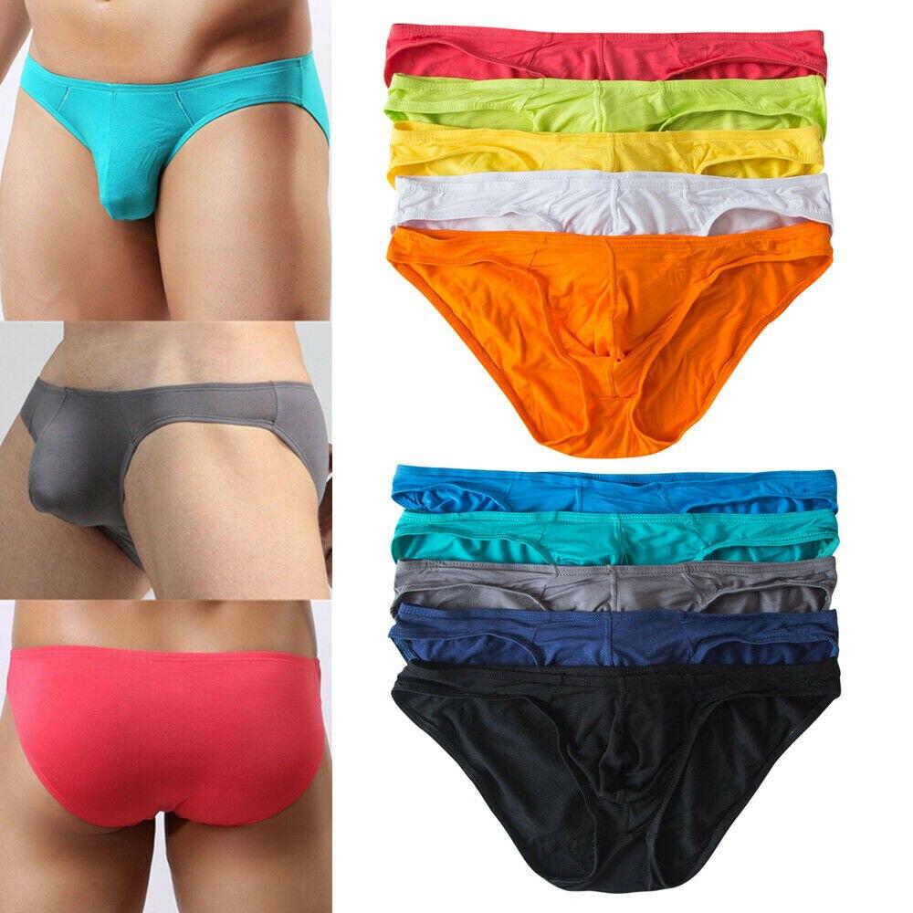 10PCS / Spousty Sexy spodní prádlo Pánské modální kalhotky Kraťasy Bulge Pouch Soft Spodní prádlo Slip Homme Sexy Jockstrap Gay Briefs Bikini