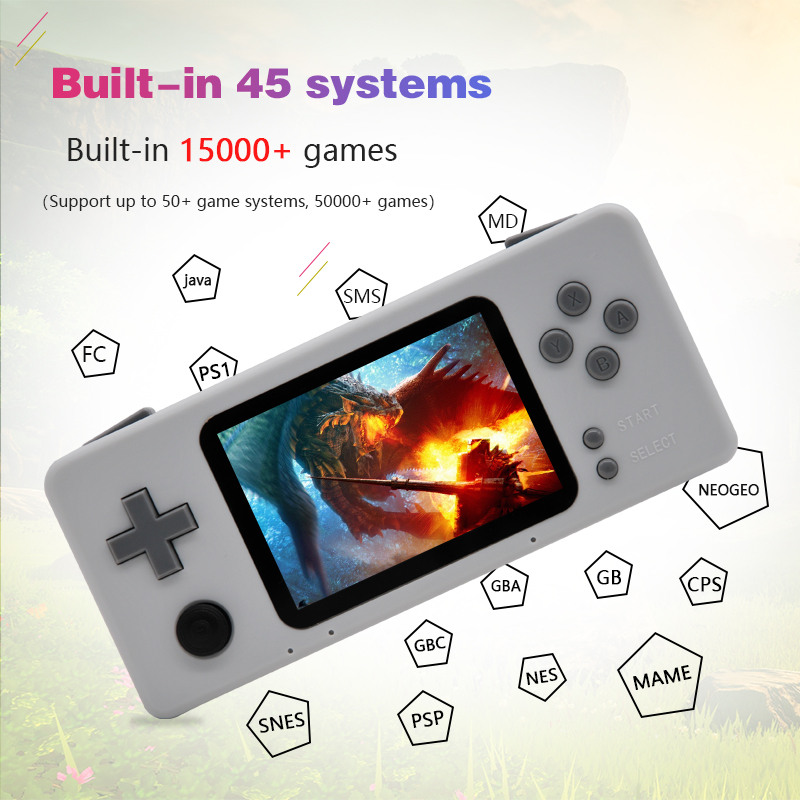 Handheld Video Game Console Raspberry pi Retro CM3 Mini Portable Gaming Player Pre-install Retropie 45 Simulator 15000+ Games