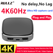 Card-Game Video-Capture Live-Streaming-Box Grabber Hdmi Recording Hdmi-4k To 1080p 60hz