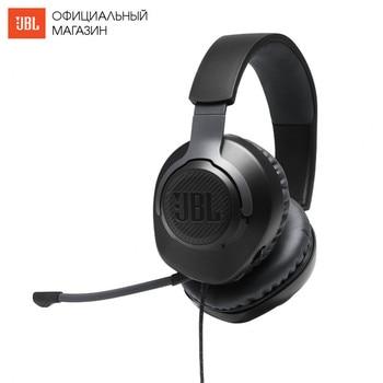 Earphones & Headphones JBL JBLQUANTUM100 Consumer Electronics Portable Audio Video headset Earphone Headphone with microphone QUANTUM 100 for Video Game 96dB Wired Dynamic