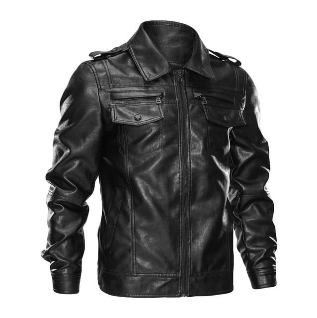 Leather Biker Jacket 1