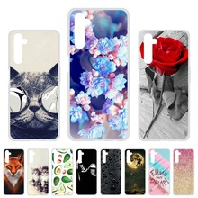 Soft TPU Case For OPPO Realme 6 Pro  Cases Silicon Cute Cat Animal Painted Phone Coque For  OPPO Realme6 Cover Fundas Bumper bolomboy painted case for alcatel 1c case silicone soft tpu cases for alcatel 1c 5009d cover wildflowers cute animal bags