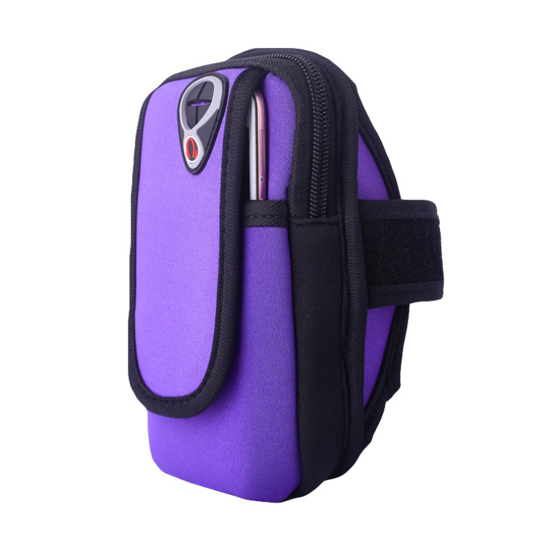 Universal Sports Arm Bag Case For IPhone XS Max 6s 7 8 Plus Multifunctional Running Fitness Arm Bag For Samsung Note