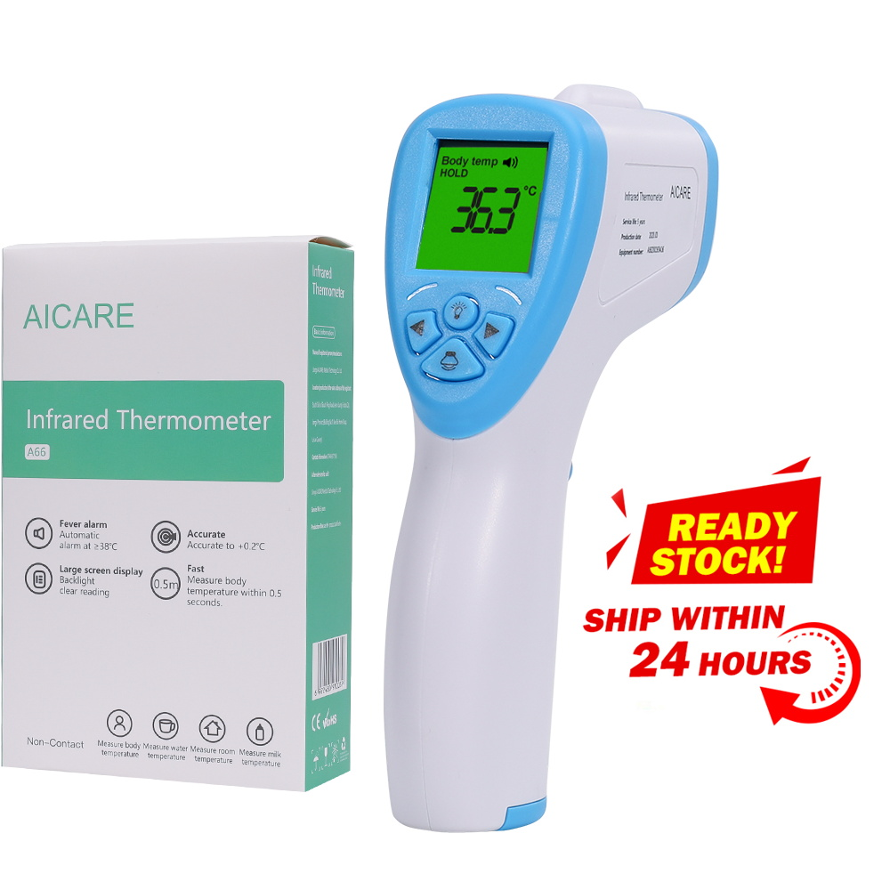 Non-Contact Body Fever Thermometer Forehead Digital Infrared Thermometer Portable Non-contact Termometro Baby Adult Temperature