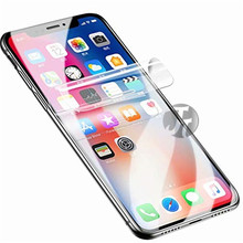 Full Cover Hydrogel Film for iphone 7 6 6s 8 plus 11 pro XS max XR film on for iphone 7 8 x screen protector for iPhone 7 6S XR