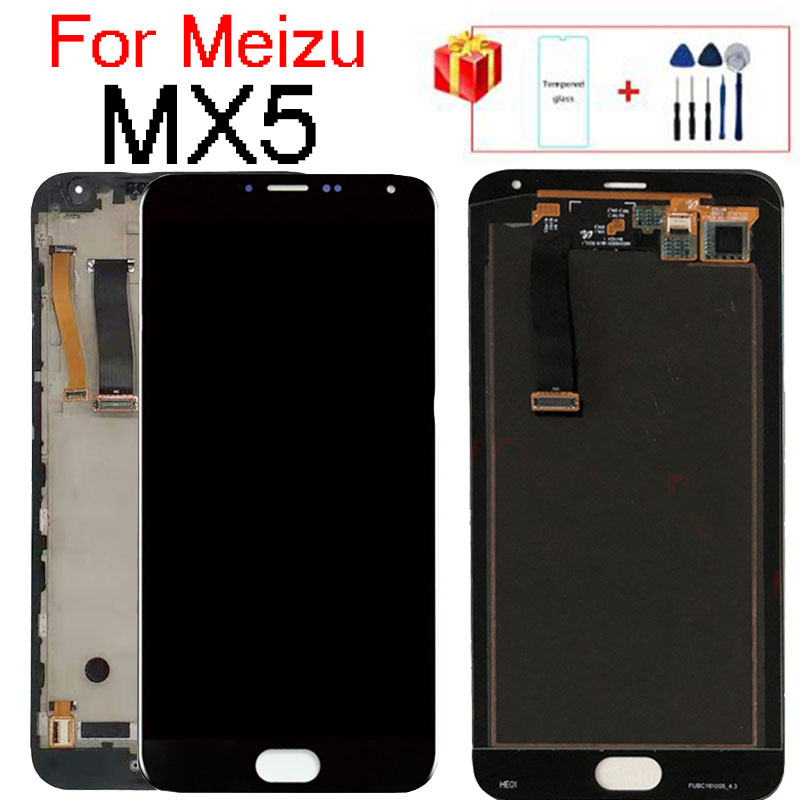 For <font><b>Meizu</b></font> <font><b>MX5</b></font> <font><b>LCD</b></font> <font><b>Screen</b></font> <font><b>Display</b></font> With Frame+<font><b>Touch</b></font> <font><b>Screen</b></font> Panel Digitizer For <font><b>Meizu</b></font> <font><b>MX5</b></font> <font><b>Display</b></font> Frame5.5'' Original Tested image