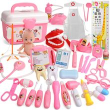26/31/39 Pcs Pretend Doctor Nurse Toy Kit Dentist Playset for Boys Girls Gifts A2UB