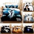 Комплект постельного белья с 3D принтом Майкла Джексона, пододеяльники, наволочки, Комплект постельного белья, текстильный домашний одинарн...