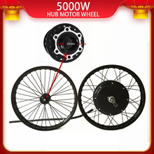 Wheel-Kit Electric-Bike-Hub-Motor 5000w QS 50H V3 48v-120v with Macthing 20mm