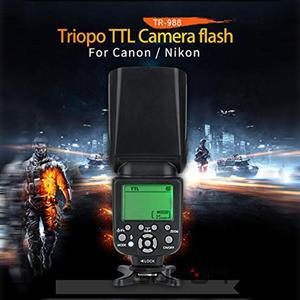 Image 2 - Flash TRIOPO TR 988 Flash professionnel Speedlite TTL avec synchronisation haute vitesse pour appareil photo reflex numérique Canon Nikon PK YN560IV