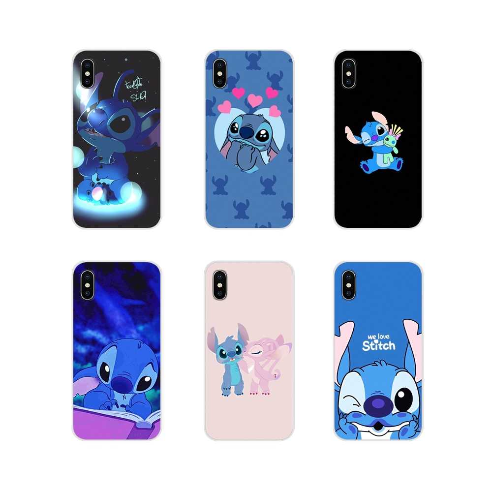 Voor Samsung Galaxy J1 J2 J3 J4 J5 J6 J7 J8 Plus 2018 Prime 2015 2016 2017 Leuke Cartoon Stich accessoires Telefoon Shell Covers