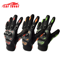 купить Racing Cross Motorcycle Gloves Touch Screen Winter&Summer Moto Luvas Guantes Motocross Protective Gear Bicycle Gloves M L XL XXL по цене 463.08 рублей