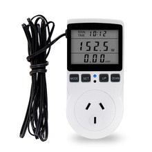 Temperature-Detector Thermostat Controller Digital-Socket LCD with Timing-Function