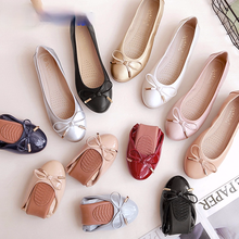 2021 New Women Flats Shoe Casual PU Leather Round Toe Flat Shoes Woman Spring Summer Ballet Flats Sapatos Femininos
