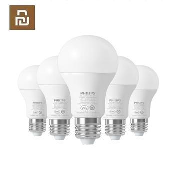 Youpin 6.5W E27 Bulb 220 - 240V 450LM 3000 - 5700K Stepless Dimming Smart LED Ball Lamp Mi Light APP WiFi Remote
