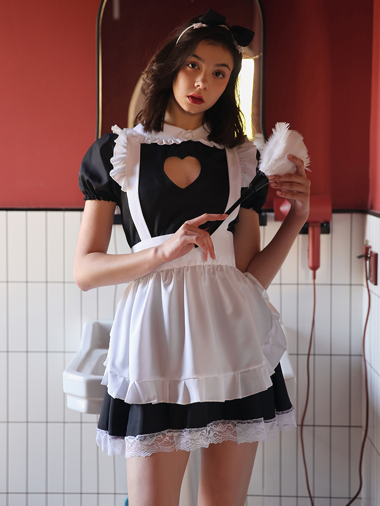 <font><b>Sexy</b></font> lingerie young girl student uniform cosplay autumn winter cute sleepwear suit hot maid <font><b>night</b></font> <font><b>dress</b></font> suit image