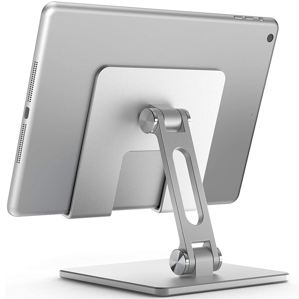 Aluminium Alloy Phone Holder Stand Mobile Smartphone Support Tablet Desk Portable Metal Cell Phone Holder for iPhone iPad