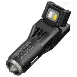 ¡Novedad de 2020! Dispositivo multifunción todo en uno Nitecore vcl10, cargador para vehículo QC 3,0, interruptor de cristal, luz de advertencia de emergencia