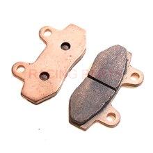 цена на Universal Racing Brake Pads Disk Brake Pads for Dirt Pit Bike ATV Quad Buggy Go Kart Scooters Duty Copper Brake pads