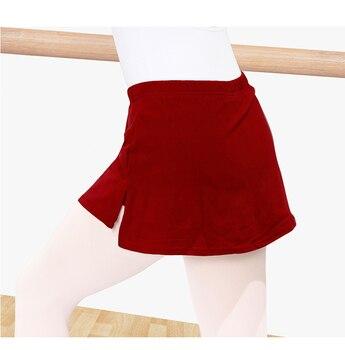 2020 ballet skirt shorts practice clothes female adult dance skirt trousers two-piece slimming slim half-length dance skirt