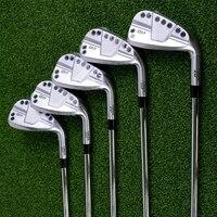 Palos de golf 0311P GEN3 plateados, 7 Uds., eje de acero de 456789W o eje de grafito con cubierta de varilla, novedad