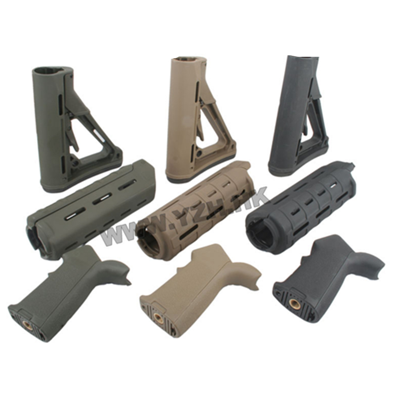 Image 4 - emersongear Emerson Tactical Toy Grip Stock Handguard Set M&P15ME set Handguard Handgrip Gel Ball Blaster Toy Accessories 3PCS-in Hunting Gun Accessories from Sports & Entertainment