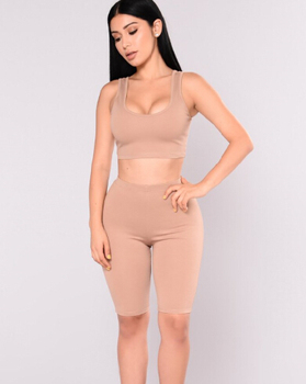 hirigin Women  Set Running Bra Pant Gym Workout Fitness Clothes Tight Sports Wear 1