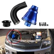 3Inch /76mm Air Filter Mushroom Head Air Power Intake Bellows Filter Car SUV High Flow Cold Air Inlet Cleaner Trim Blue