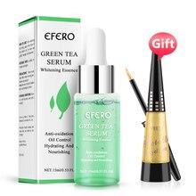 EFERO Acne Treatment Face Serum Nature Green Tea Face Essence Anti Acne Pore Skin Care Supp