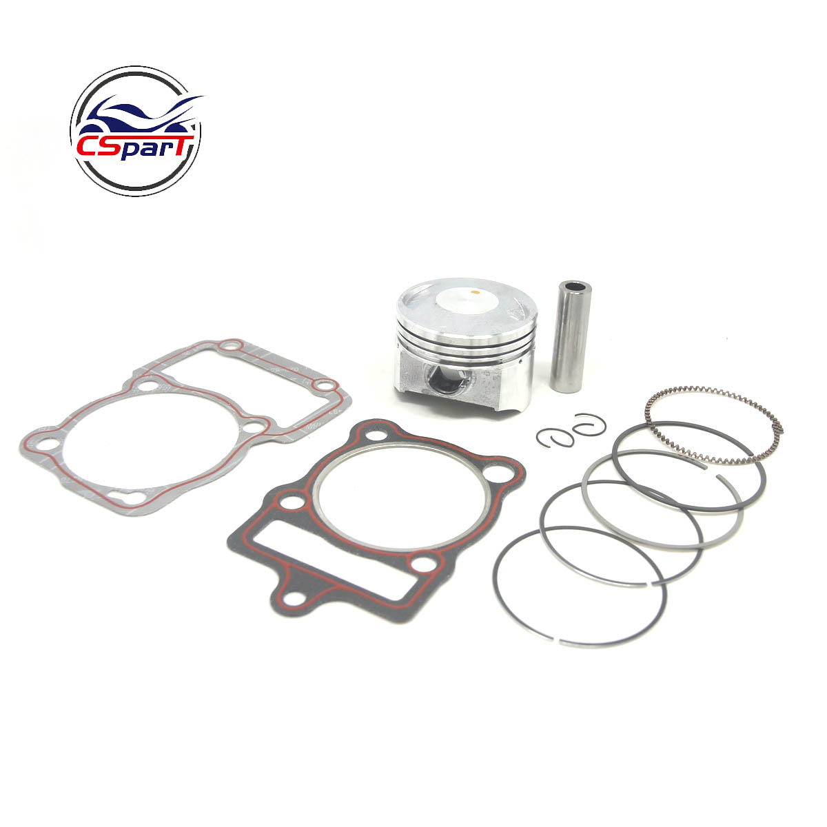 67mm 16mm Lifan  Zongshen Loncin CG 250CC CG250 250 Piston Ring Gasket Air Cooled ATV Quad Dirt Bike Motorcycle