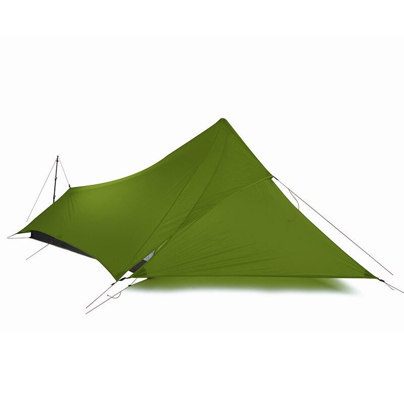 FLAME'S CREED XUNSHANG 20D silnylon 1 человек Открытый Сверхлегкий Палатка 3 сезона дождь муха тент брезент - 3