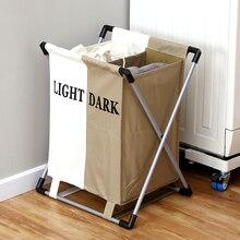 ORZ, модная корзина для белья, складная, толстая, Оксфорд, опалубка, две сетки, корзина для хранения, коробка для ванной комнаты, стойка, органайзер для одежды