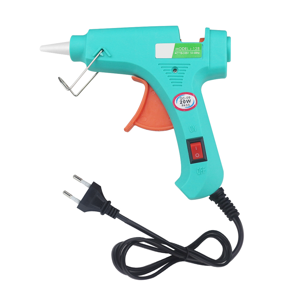 DIY Mini Guns Hot Melt Glue Gun Glue EU Plug Electric Heat Temperature Repair Heat Tool Removable Tool Power Tool Small Craft