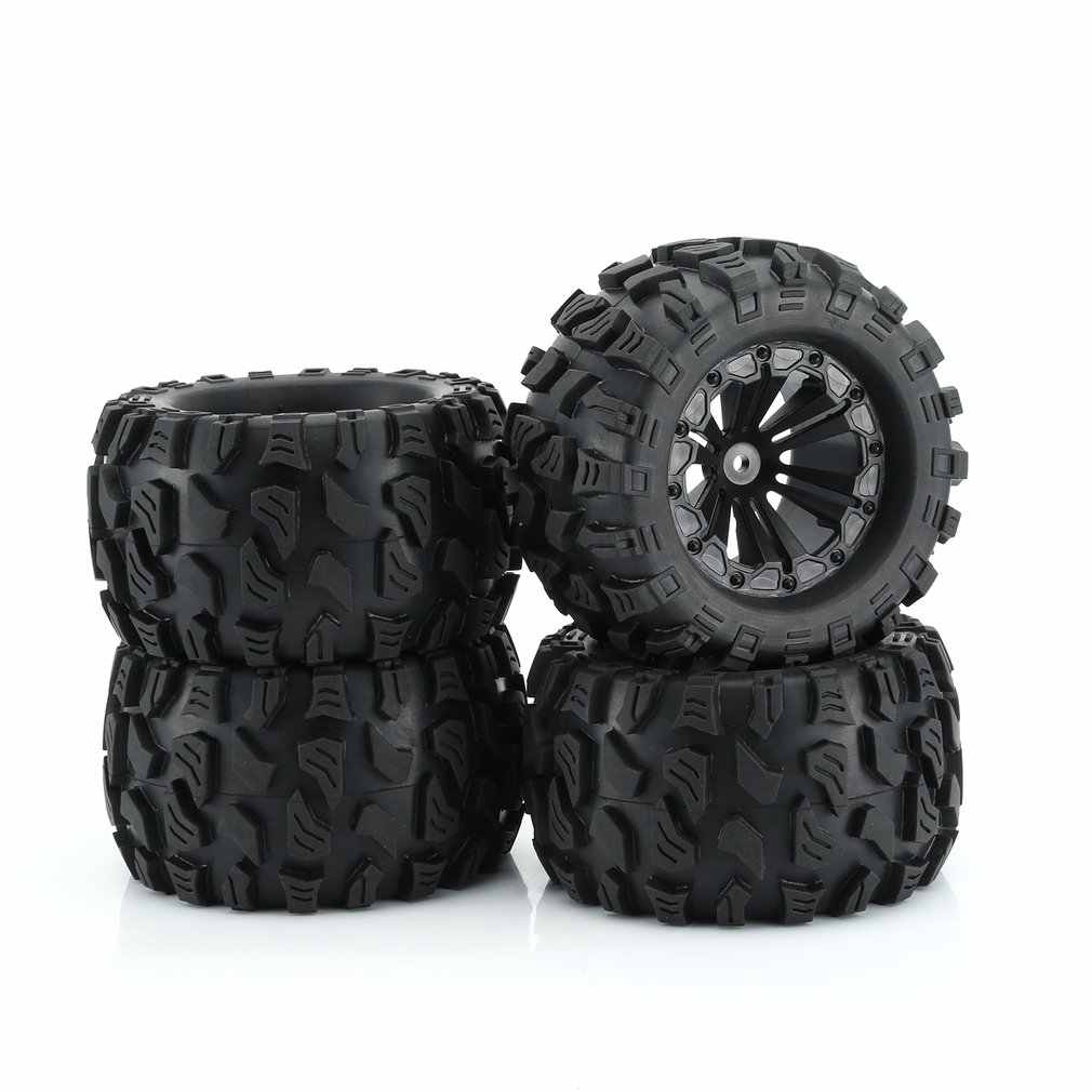 ZD Racing Nieuwe 4PCS 1/10 Monster Truck Big Foot Truck Tire & Wiel Speelgoed wiel voor HPI HSP Savage XS TM Flux ZD Racing LRP