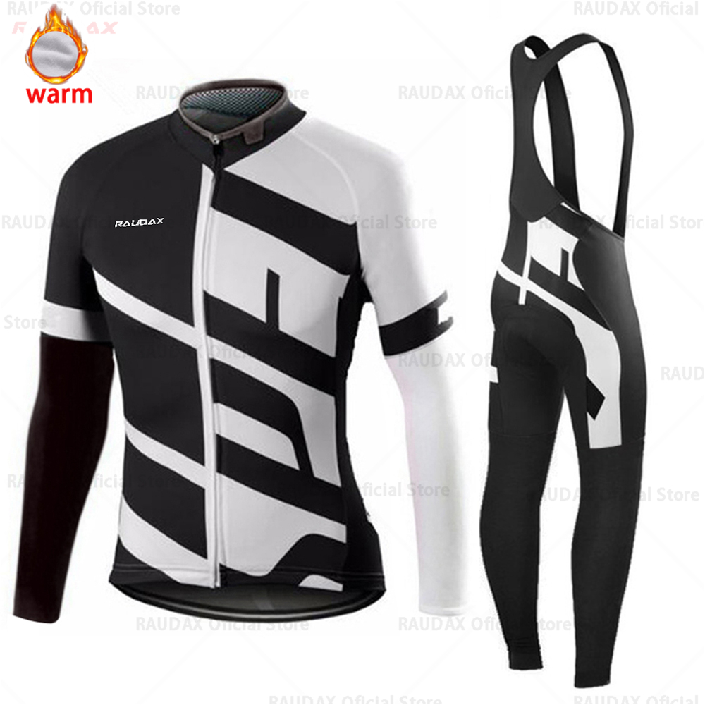 Image 3 - Cycling Jersey 2019 Pro Team SPECIALIZEDING Winter Fleece Cycling Clothing MTB Cycling Bib Pants Set Ropa Ciclismo Triathlon-in Cycling Sets from Sports & Entertainment