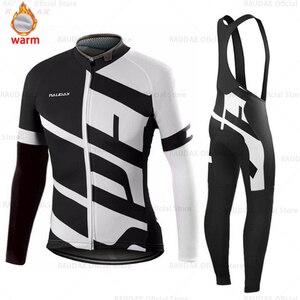 Image 3 - Nam Bộ Quần Áo Đạp Xe Jersey 2020 Pro Đội Raudax Mùa Đông Trang Đi Xe Đạp Quần Áo MTB Đi Xe Đạp Yếm Quần Lót Ropa Ciclismo ba Môn Phối Hợp