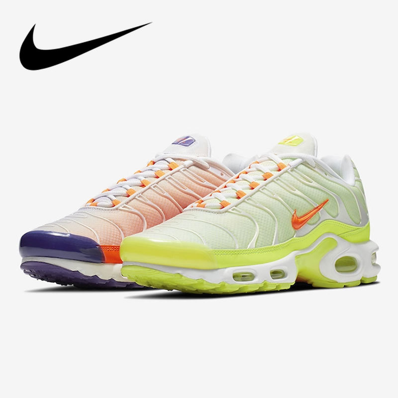 Original Authentic Nike Air Max TN Plus Men's Running Shoes Sneakers Breathable Outdoor Sports Color Flip New Arrival CI5924-061